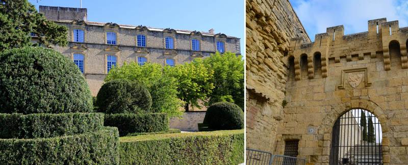 Ansouis chateau