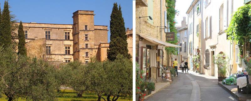 lourmarin chateau et village
