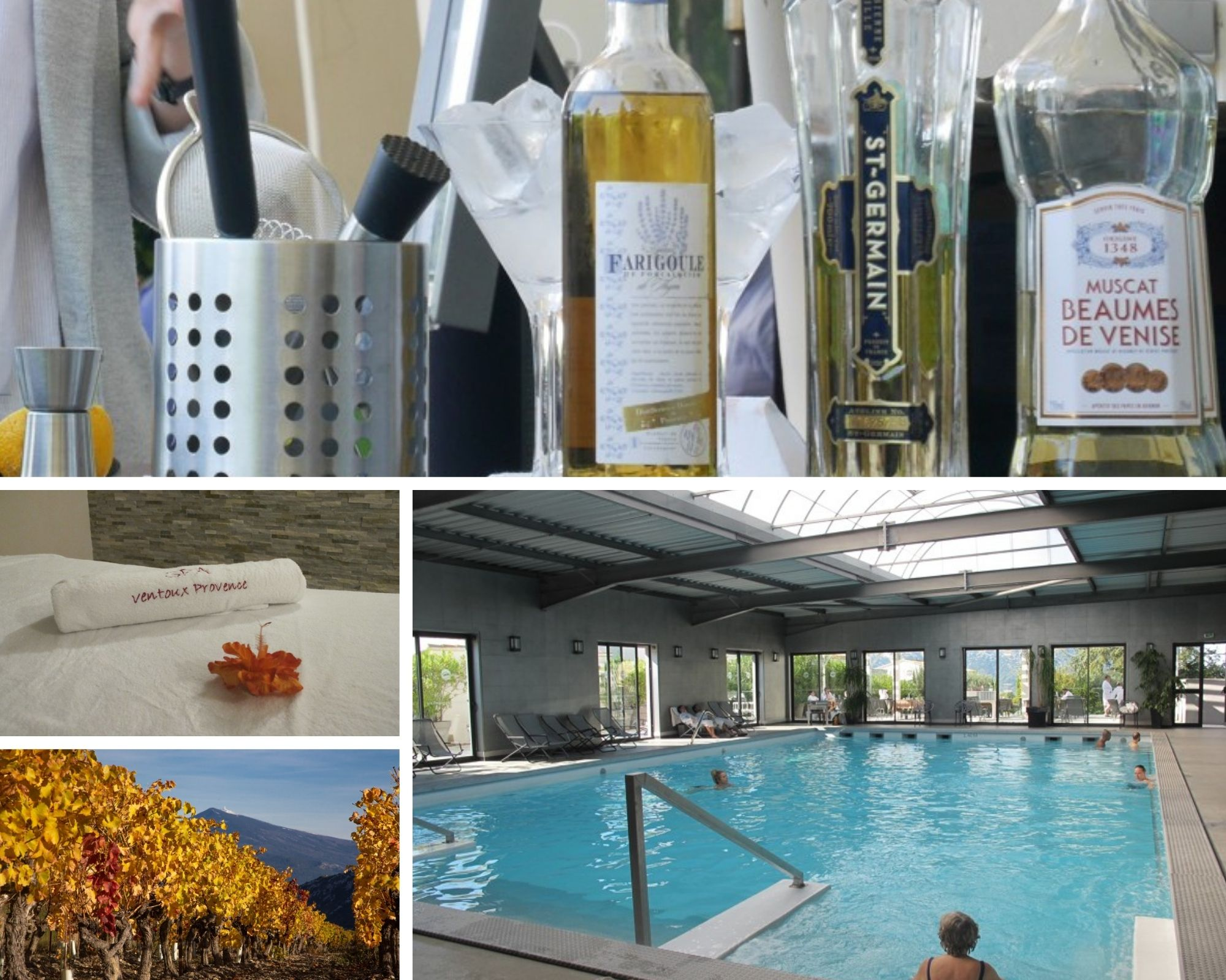 Wellness Spa and wine tasting in Provence