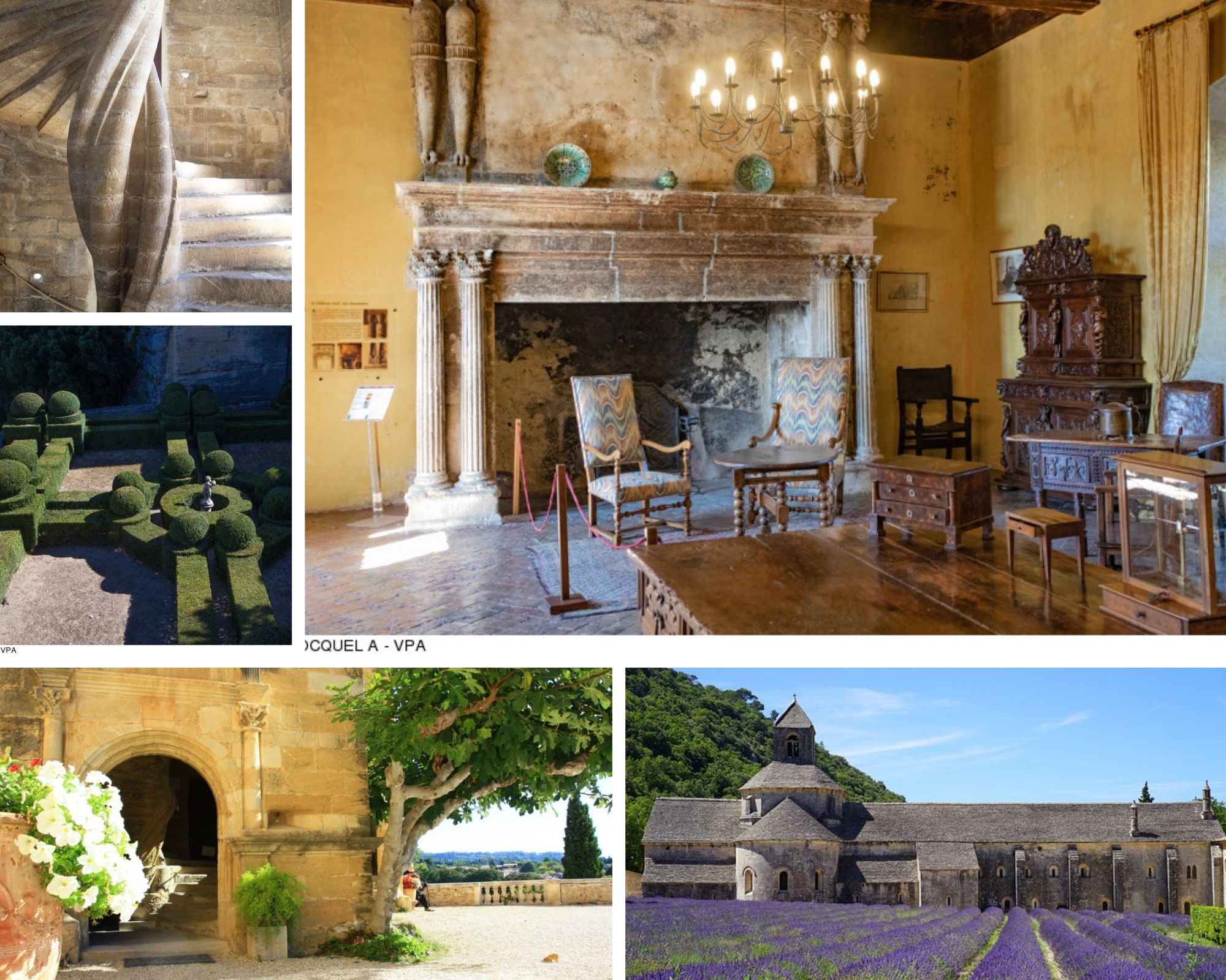 Castles and heritage to visit in Provence