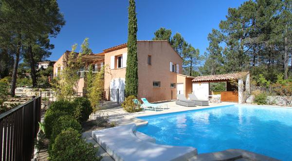 A bedoin location villa climatis e avec piscine chauff e - Chambre d hote piscine chauffee ...