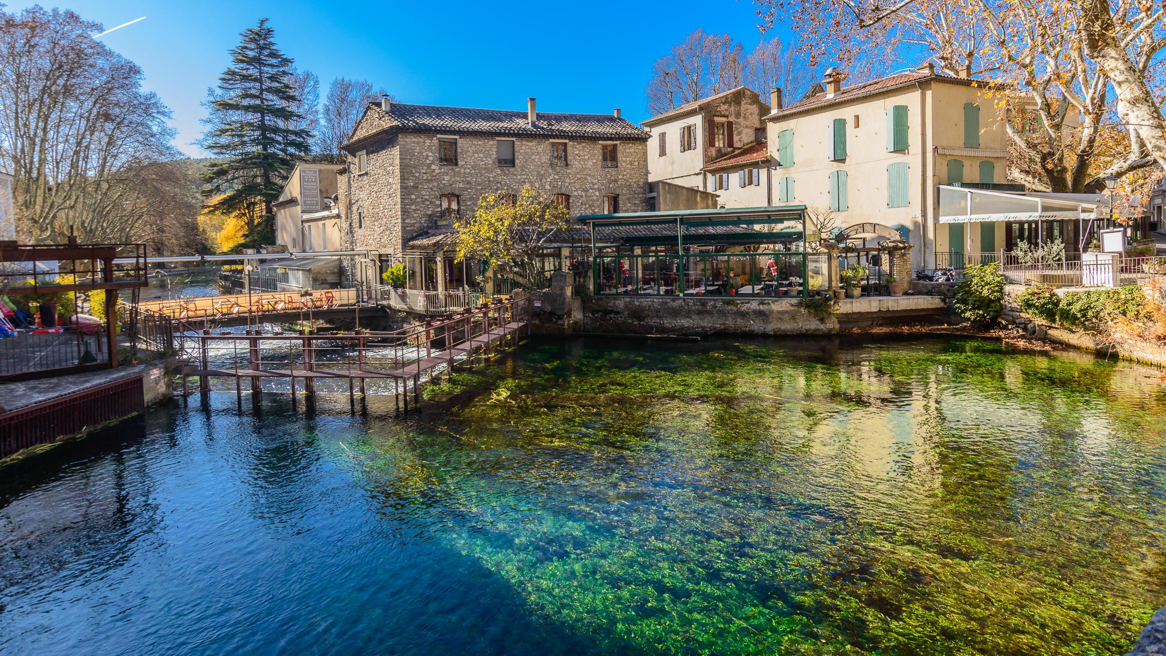 Le Vaucluse, au fil de l'eau...