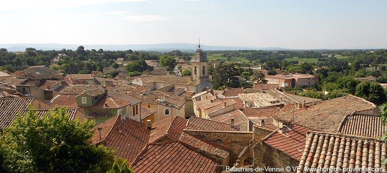 Beaumes de Venise, a charming village near Dentelles de Montmirail