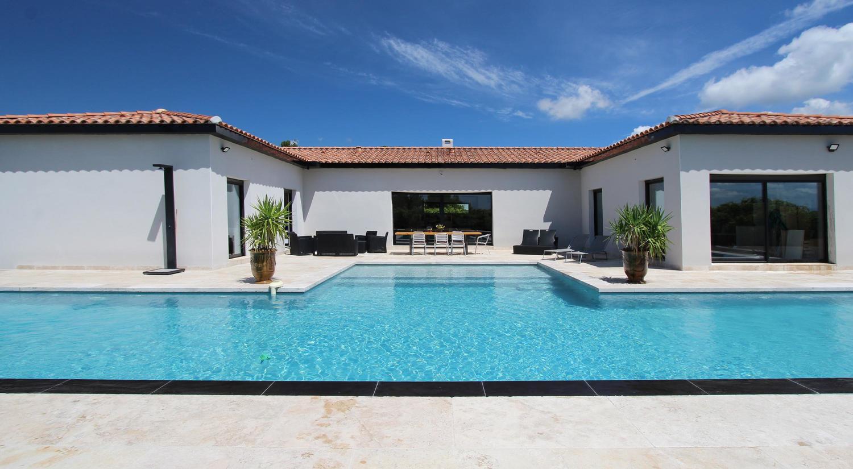Villa contemporaine tout confort à louer a aubignan