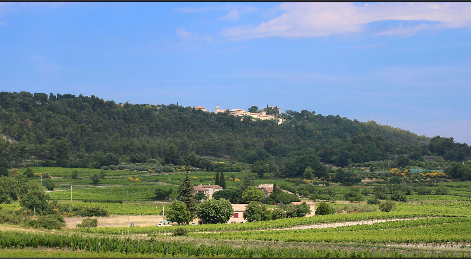 Blauvac, village perché du Mont Ventoux